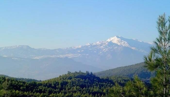 Las montañas más bellas de Estambul