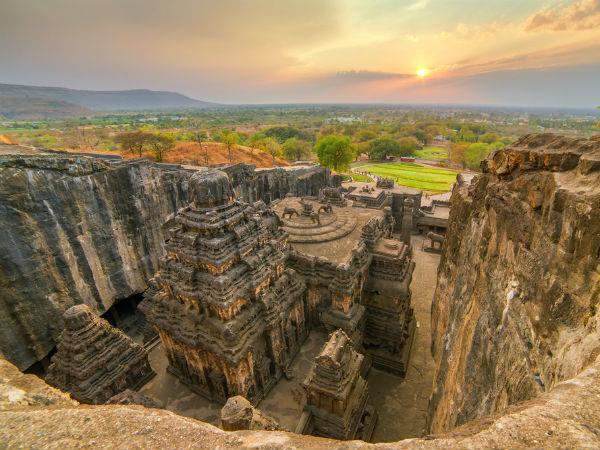 las cuevas de Ajanta y Ellora
