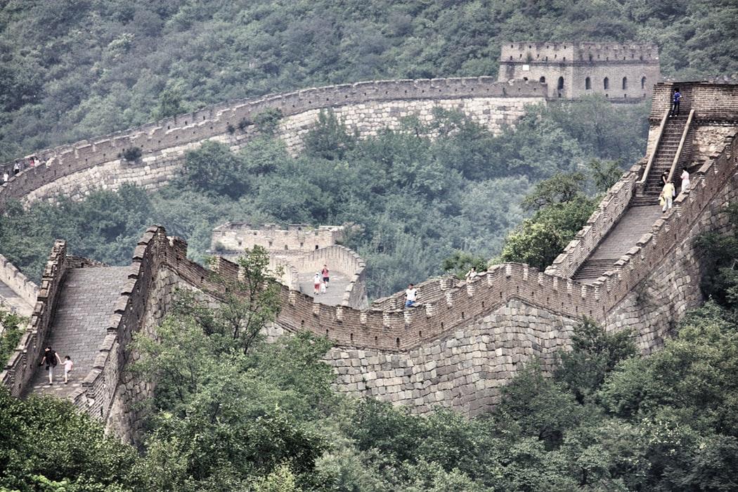 lugares para visitar en la Gran Muralla China