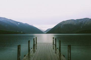 lagos más bellos de Nueva Zelanda