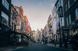 viaje por carretera en Irlanda