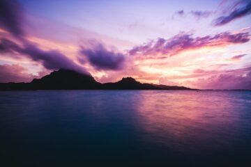 islas bellas del triángulo polinesio