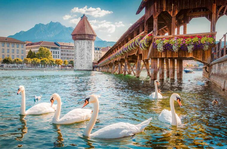 El Puente de la Capilla. Lucerna - Suiza
