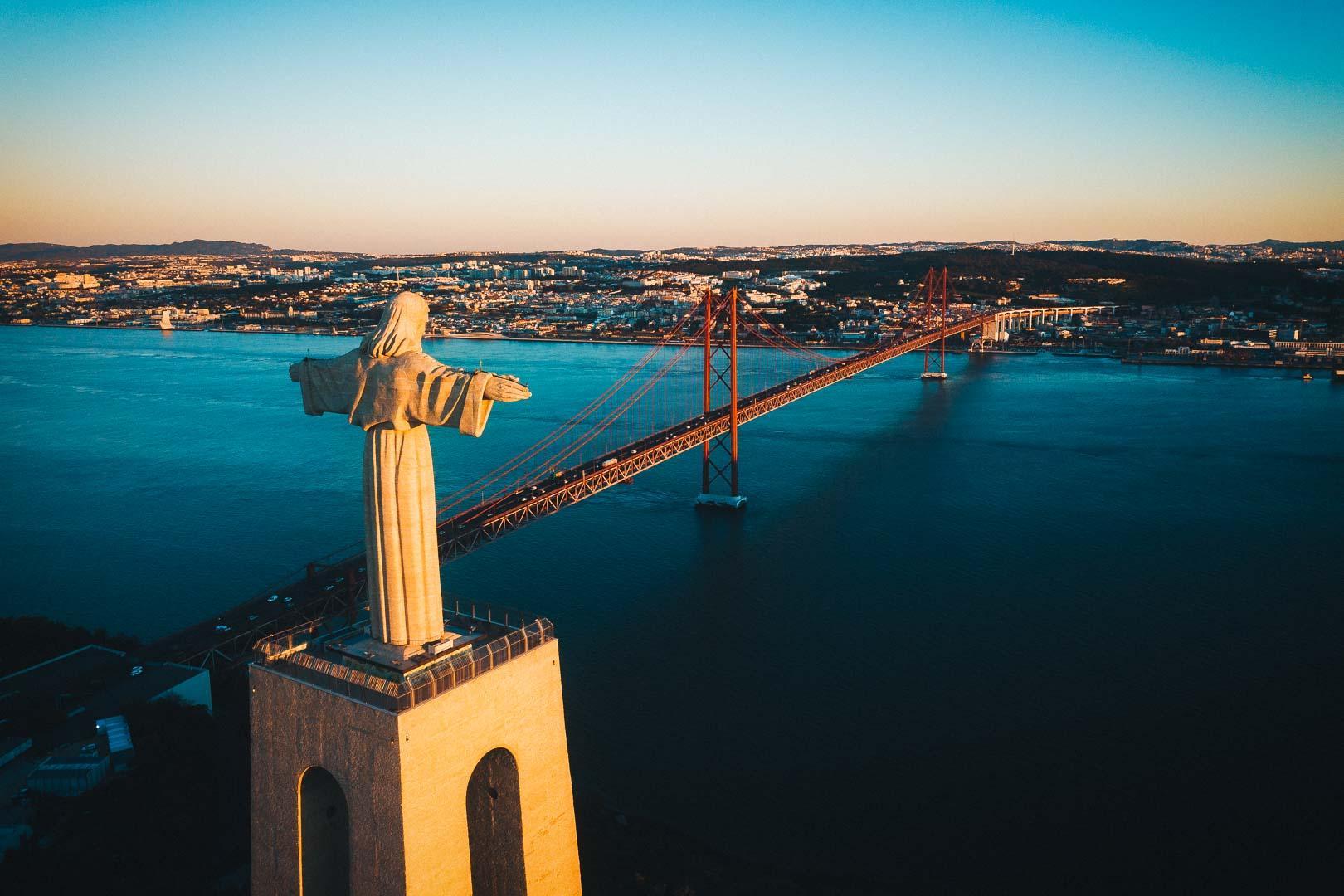 El Cristo Rei. Lisboa, Portugal