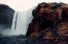 Skógafoss en Islandia