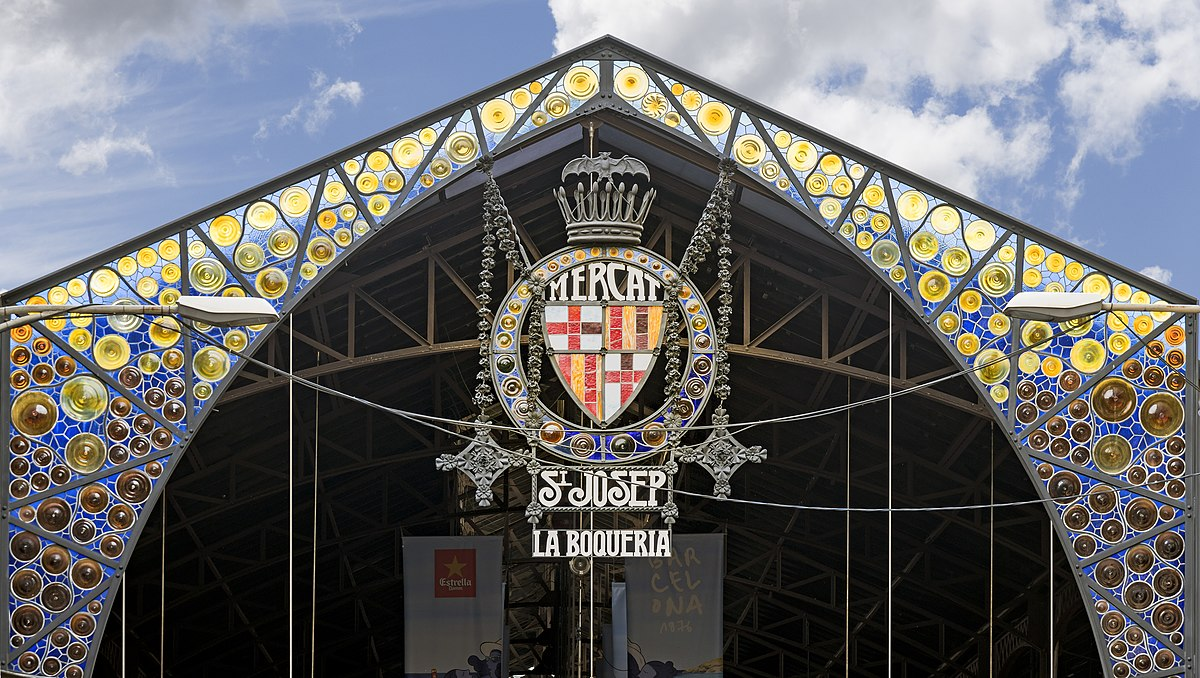 El mercado de la Boquería barcelona