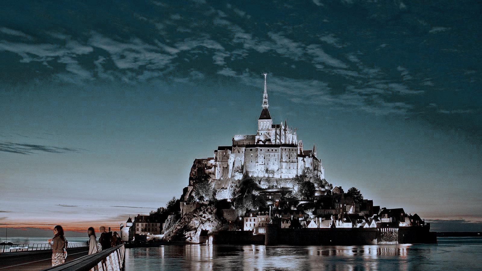Mont Saint-Michel, Normandía