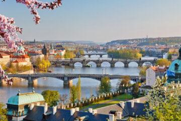 ir del aeropuerto de Praga al centro
